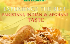 Flyer for Usmania Restaurant