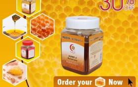 Flyer for Honey Company