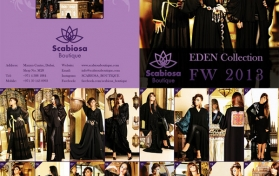 Flyer for abaya boutique