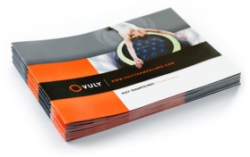 Brochure design fitness club
