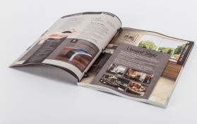 Decoraiton company brochure design