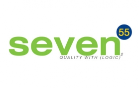 logo design for seven55 web design