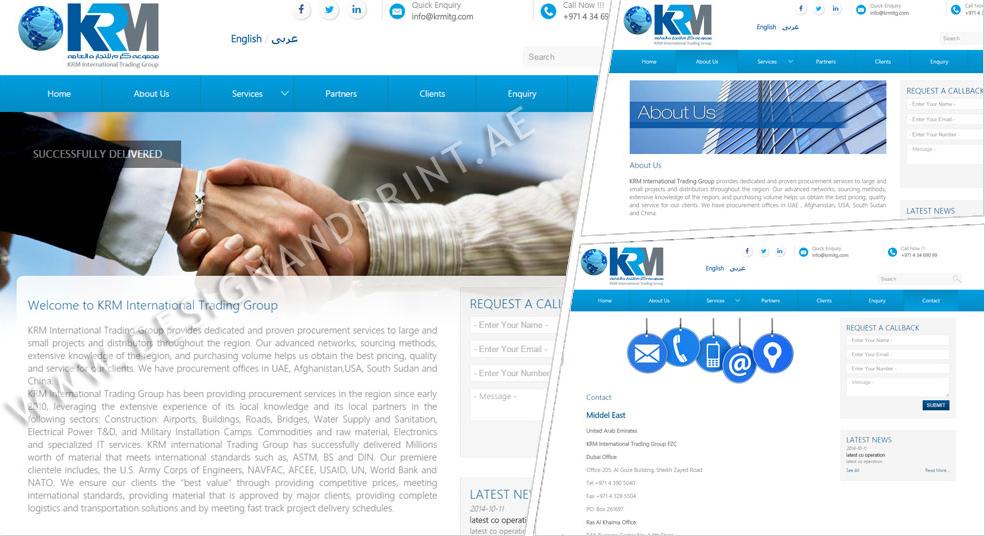 Website trading